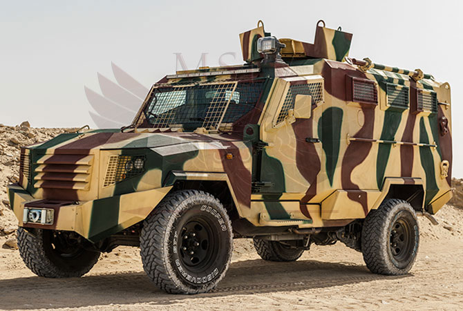 Armoured Personnel Carrier Ethiopia - panthera-t6-3dr