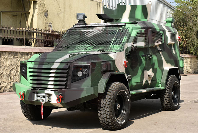 Armoured Personnel Carrier Ethiopia - Panthera T6F